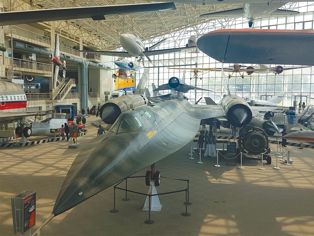מוזיאון התעופה בסיאטל. ספיר פרץ זילברמן